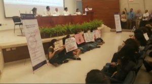 Protestan universitarias nuevamente por acoso sexual en la UADY