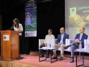 Va Congreso Federal por una nueva Ley de Sociedades cooperativas que explotará sus potenciales: Soraya Pérez Munguía