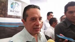 Crisis turística mundial por coronavirus sí impactará a Quintana Roo: Carlos Joaquín