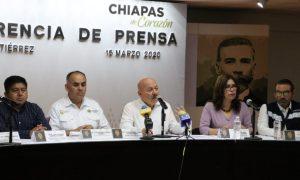 Implementa Chiapas operativo en aeropuertos y terminales para evitar propagación de coronavirus: Salud