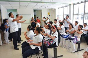 Realizan campaña contra el COVID-19 en las divisiones académicas de la UJAT
