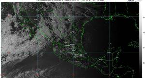 Se prevén descenso de temperatura, rachas de viento y lluvias en el noroeste de México