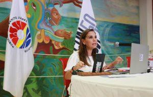Mantiene Mara Lezama enlace permanente con ciudadanía para proteger a las familias en Benito Juárez