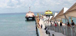 Cae 80% usuarios de la Terminal Marítima de Playa del Carmen