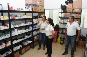Garantiza Laura Fernández atención en los dispensarios médicos en Puerto Morelos