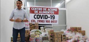 Abre diputado Alberto Batun centro de acopio en Villas Otoch de Cancún