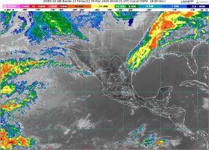 Continuará ambiente muy caluroso en la mayor parte de México, debido a un sistema de alta presión en niveles medios de la atmósfera
