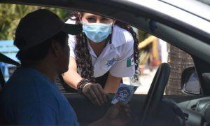 Instalan filtro policíaco en Puerto Morelos para evitar que ciudadanos se concentren en las playas
