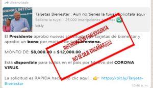No hay trámites de Tarjetas del Bienestar por la contingencia en Quintana Roo