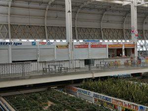 Cierran 800 locatarios sus comercios en el mercado Pino Suárez de la capital de Tabasco por COVID19