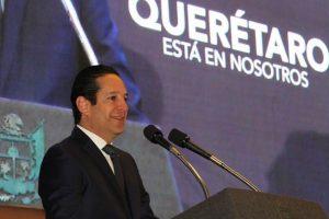Luego de presentar fiebre por Covid-19, Gobernador de Querétaro está estable