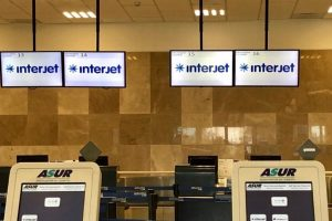 Suspende Interjet vuelos en aeropuerto de Veracruz por baja afluencia
