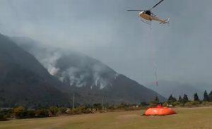 Controlan el 60% de incendio forestal en Maltrata, Veracruz