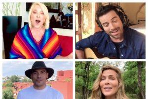 La veracruzana Yuri y otros famosos cantan 'Cielito lindo' para dar mensaje de esperanza