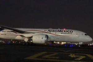 Llega a México tercer vuelo con insumos médicos desde China