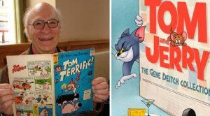 Fallece el legendario dibujante de Tom y Jerry y Popeye