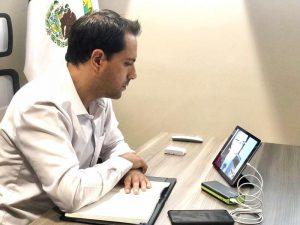 El Gobernador Mauricio Vila Dosal hace un nuevo llamado a los yucatecos para permanecer en sus casas ante la contingencia por Coronavirus