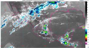 Se prevén lluvias muy fuertes con descargas eléctricas y posible granizo en Chiapas