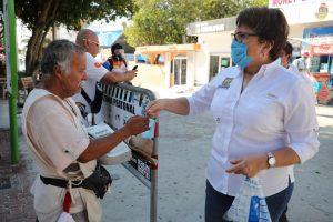 Todos los recursos humanos y materiales en Playa del Carmen unidos para frenar Covid 19: Laura Beristain