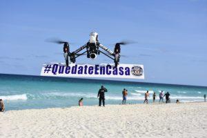 Intensifica gobierno municipal de Mara Lezama control de espacios públicos de Cancún: drones, cierre de vialidades y playas