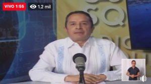 Cinco puntos para garantizar servicios y comida en Quintana Roo: Carlos Joaquín
