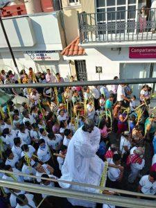 En Chiapas celebran Domingo de Ramos pese a emergencia por Covid-19