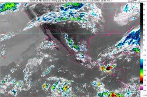 Se pronostican lluvias fuertes en Chiapas, Oaxaca y Veracruz