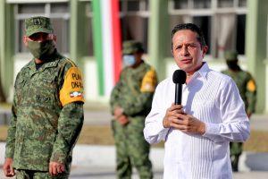 Inició hoy la entrega de 500 mil apoyos alimentarios, casa por casa, en todo el estado: Carlos Joaquín