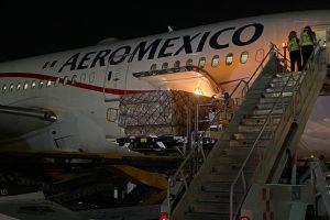 Llega noveno cargamento con insumos médicos procedente de China