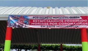 En municipio de Veracruz, prohiben morir de COVID19