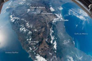 ¡Impresionante! Así se ve México desde el espacio (Video)
