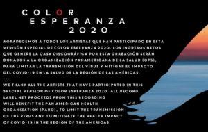 """Se unen estrellas latinas en """"Color Esperanza"""" contra el COVID19 (+Video)"""