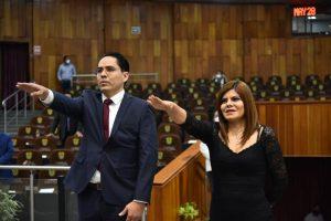 Congreso de Veracruz nombra a Alfredo Corona y Magda Zayas como comisionados del IVAI