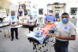 El Gobierno de Yucatán equipa ambulancias con ventiladores para el traslado ágil y seguro de pacientes con Coronavirus