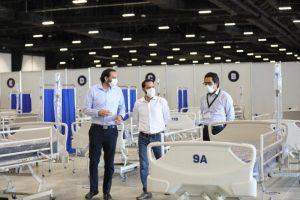 El Centro de Convenciones y Exposiciones Yucatán Siglo XXI ya está listo para funcionar como hospital temporal y exclusivo para personas con Coronavirus
