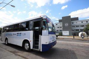 La «Ruta por la Salud» comenzó operaciones para facilitar la movilidad de personal médico hospitalario durante la contingencia por Coronavirus en Mérida