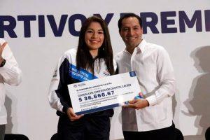 Guadalupe Quintal, lista para cumplir el sueño de participar en Juegos Olímpicos