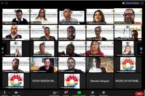 Hace historia Mara en Cancún al encabezar primera sesión virtual de cabildo