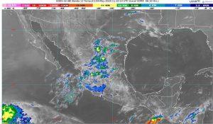 Se pronostican lluvias puntuales fuertes en Chiapas y Oaxaca