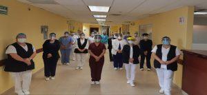 En el día internacional de las Enfermeras y Enfermeros, PEMEX expresa su reconocimiento y gratitud al personal adscrito en sus Servicios de Salud, por su plausible y destacada labor en beneficio de los trabajadores petroleros y sus familias