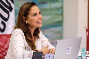 """Facilitamos procedimientos y combatimos la corrupción con la app """"Cancún móvil"""": Mara"""