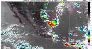 Se prevén lluvias muy fuertes en Campeche, Chiapas, Hidalgo, Puebla, San Luis Potosí, Veracruz y Yucatán