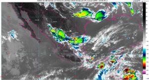 Se pronostican lluvias puntuales intensas en Chiapas, Tabasco y Veracruz