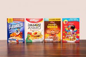 Kellogg lanza edición especial de sus empaques de cereal con mensajes de aliento para sus consumidores