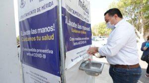 El Ayuntamiento de Mérida no baja la guardia en las medidas preventivas y de vigilancia sanitaria en el municipio