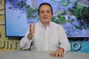 Debemos evitar un rebrote de contagios por Covid-19 que nos obligue a detener la reincorporación a las actividades productivas: Carlos Joaquín