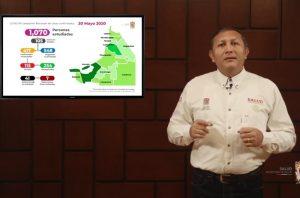 Campeche continúa en una cadena acelerada de contagios: SSA
