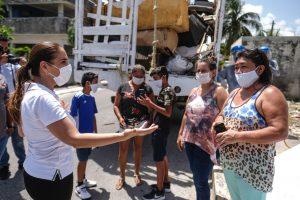 Supervisa Mara descacharrizacion para prevenir proliferación de moscos