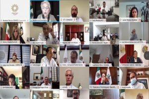 Participa Adán Augusto en reunión virtual con Segob para analizar aspectos del COVID-19