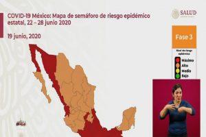 Ciudad de Mexico y Tabasco regresan a Semáforo Rojo